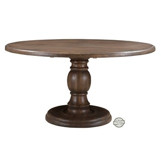 "Link to Lewiston Round Dining Table 59"" - 59W x 59D x 30H Similar Items in Dining Room & Bar Furniture"
