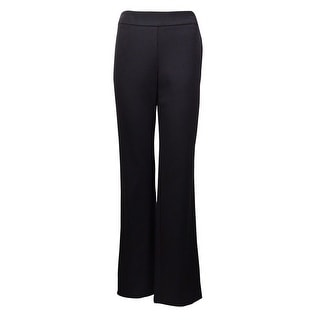 Charter Club Women's Classic Fit Relaxed Full-Leg Trousers
