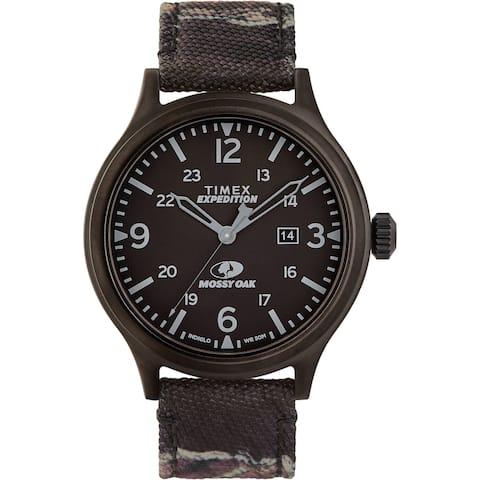 Timex x Mossy Oak TW2U21100 Expedition Scout 43mm Watch