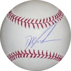 Dwight Gooden signed Official Major League Baseball (NY Yankees/Mets)