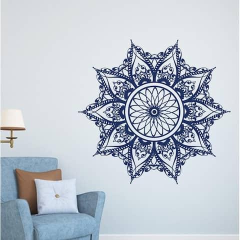 Wall Decal Mandala Flower