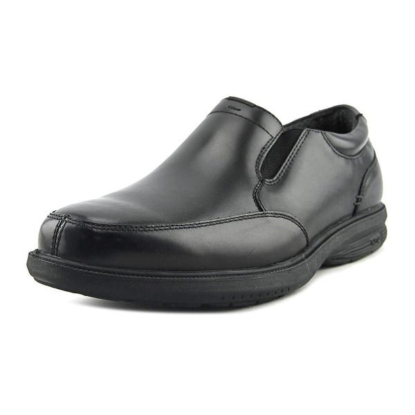 Nunn Bush Myles St. Men Round Toe Leather Black Loafer