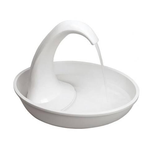 Pioneer Pet Swan Drinking Fountain - Plastic - 80 oz