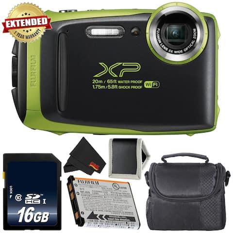 Fujifilm FinePix XP130 Waterproof Digital Camera Bundle - Intl Model