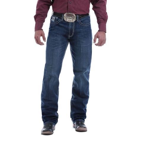 Cinch Western Denim Jeans Mens White Label Relaxed Chevrons