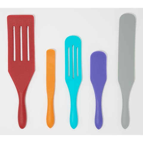 Mad Hungry 5-Piece Multi-Use Silicone Spurtle Set