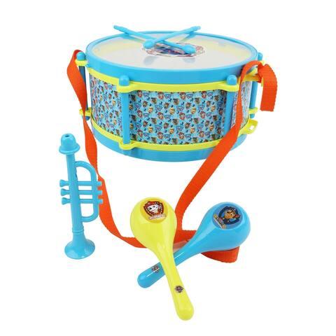Paw Patrol 6 Piece Rhythm and Melody Drum Set in Blue