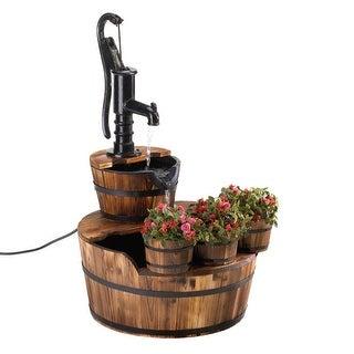 Pump & Barrel Fountain