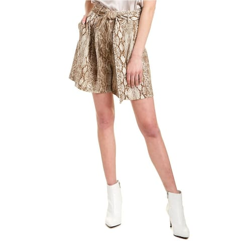 Andamane Linen-Blend Short