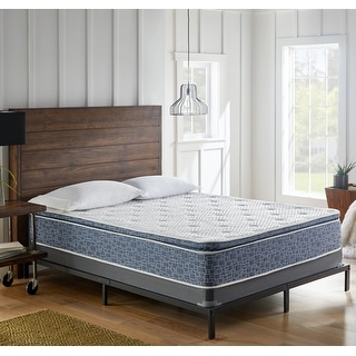 Link to 10-Inch Plush Pillow Top Hybrid Mattress, CertiPUR-US Foam Similar Items in Mattresses
