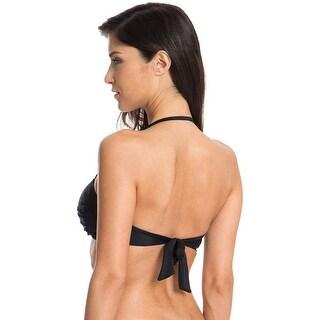 Link to Ocean Blues Women's Swim Standard Twist Bandeau Bikini Top - Medium Similar Items in Women's Surf & Swim Clothing