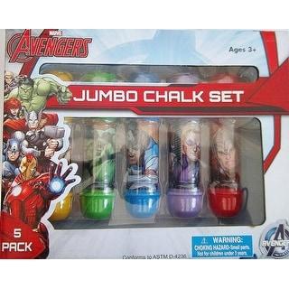 Marvel Avengers Jumbo Chalk Set - 5 Pack