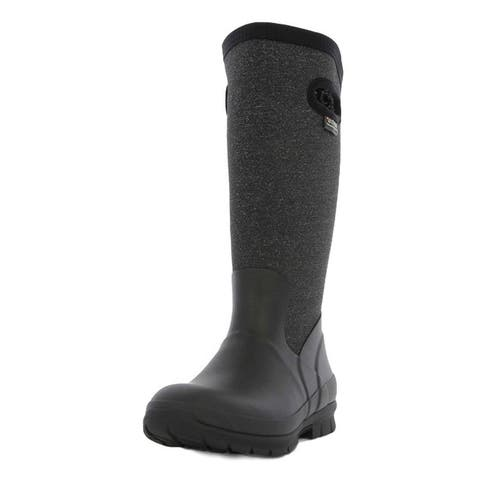 Bogs Outdoor Boots Women Pull On Crandall Tall WP Slip Resistant