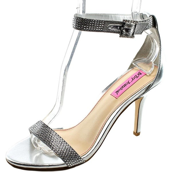 Betsey Johnson Brodway Women Open Toe Synthetic Sandals