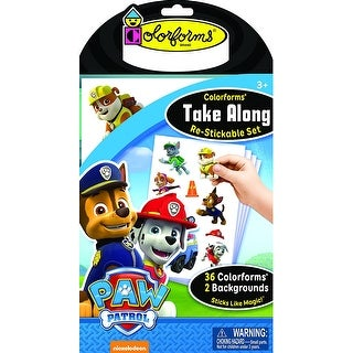 Paw Patrol Colorforms Take Along - multi