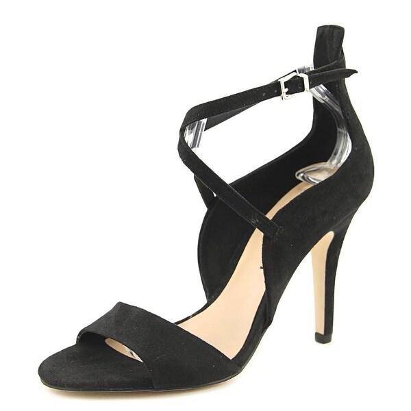 Call It Spring Hauwet Women Open-Toe Synthetic Black Heels
