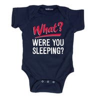 What Were You Sleeping-Infant One Piece