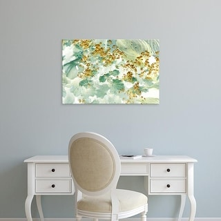 Easy Art Prints Judy Stalus's 'Golden Lady's Mantle' Premium Canvas Art