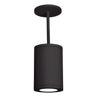 """WAC Lighting DS-PD06-S35 6"""" Diameter LED Dimming Outdoor Semi-Flush Ceiling Light 3500K Spotlight"""