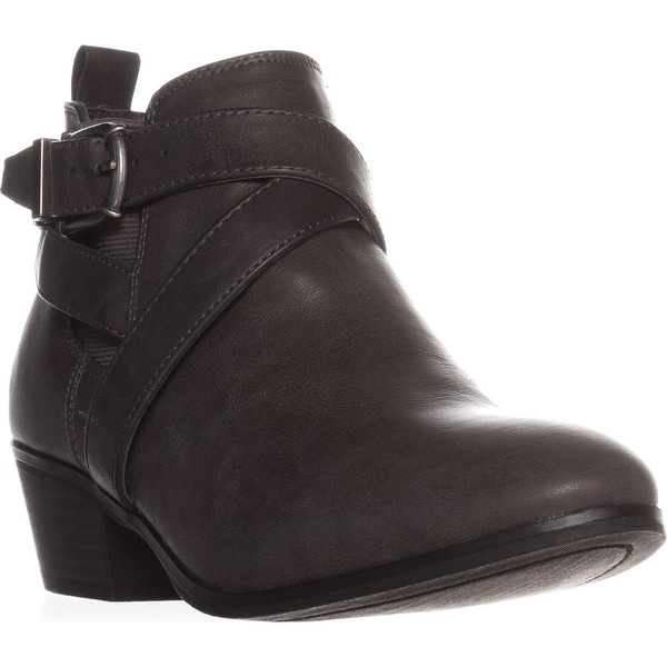SC35 Harperr Ankle Booties, Grey