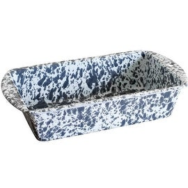 Crow Canyon D32GYM Loaf Pan, Grey Marble