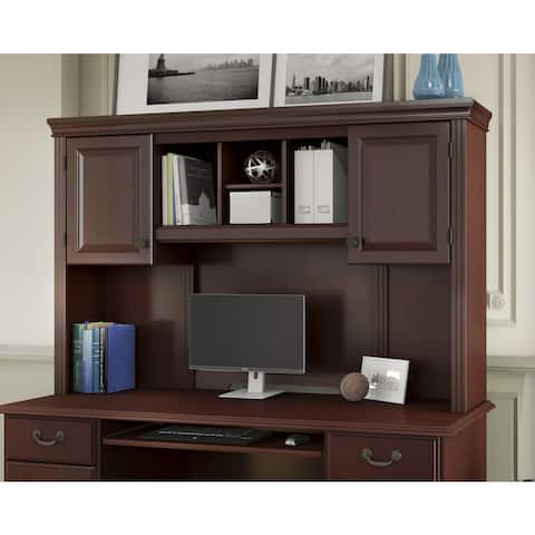 Bennington Harvest Cherry Hutch from kathy ireland Home by Bush Furniture (Hutch Only)