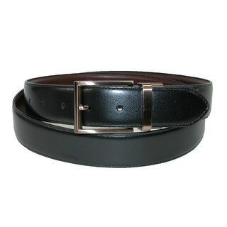 Kenneth Cole Reaction Men's Reversible Feather Edge Belt - Brown/Black