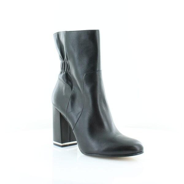 MICHAEL Michael Kors Ursula Ankle Boot Women's Boots Black - 5