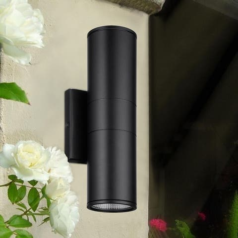 Allumer 20W LED Wall Lamp, Swing Arm Light, 2 Pack