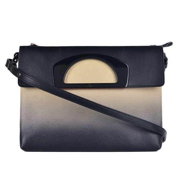 e39cede29ec Shop Christian Louboutin Womens Passage Ombre Pebbled Leather ...