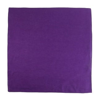 CTM® Cotton Solid Color Bandanas
