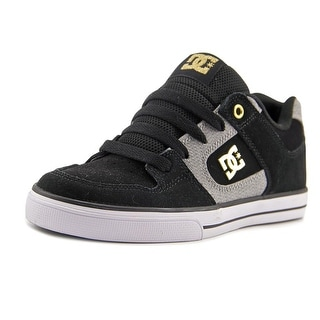 DC Shoes Pure XE Youth  Round Toe Suede  Skate Shoe