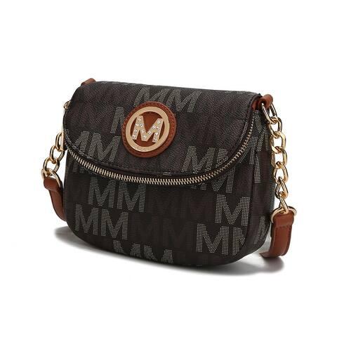 MKF Collection Camila M Signature Crossbody Bag by Mia K.
