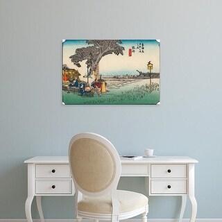 Easy Art Prints Unknown's 'Iconic Japan III' Premium Canvas Art
