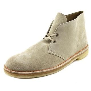 Clarks 65th Anniversary Desert Boot Men Round Toe Leather Tan Desert Boot