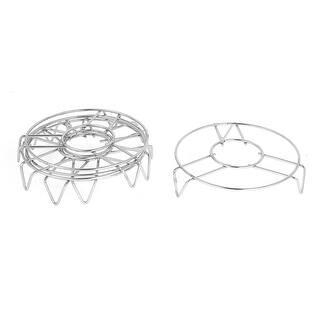 Cookware 14cm x 3cm Stainless Steel 3 Legs Cooker Food Steam Rack 5 Pcs|https://ak1.ostkcdn.com/images/products/is/images/direct/2a3758994ea421d8d03ffdba0b4010a7a57701d9/Cookware-14cm-x-3cm-Stainless-Steel-3-Legs-Cooker-Food-Steam-Rack-5-Pcs.jpg?impolicy=medium