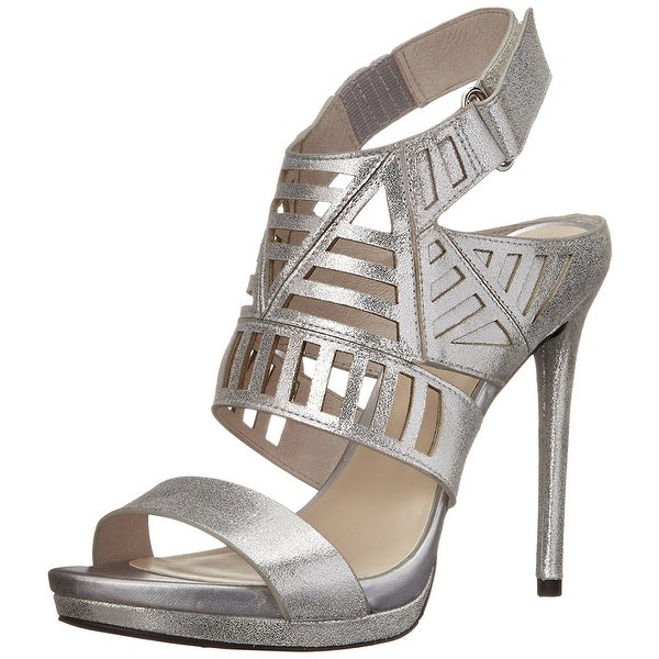 Kenneth Cole New York Womens NIKO CUT OUT NU Leather Open Toe Casual Strappy ...