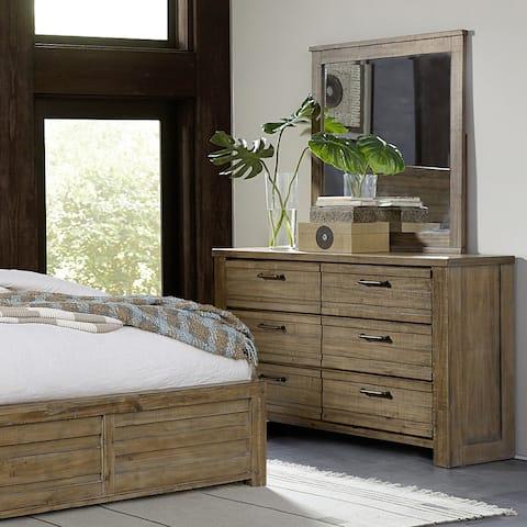 Hand-distressed Wooden Dresser