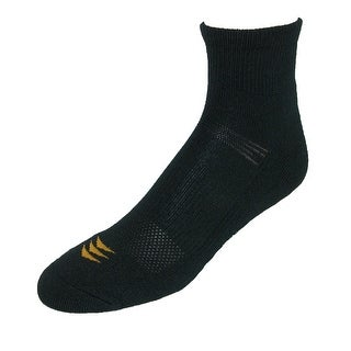 Gold Toe Powersox Men's CoolMax Cushioned Quarter Socks (3 Pair Pack) (2 options available)