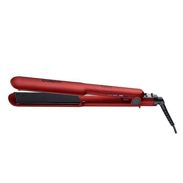Conair Cs222st 1 1/2 Inch Double Ceramic Soft Touch Flat Iron