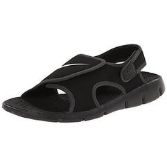 f16657f00794 Shop Nike Kids Boy s Sunray Adjust 4 (Little Kid Big Kid)  Black White Anthracite Sandal - Free Shipping Today - Overstock - 20999155