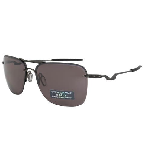 Oakley Tailhook Square Sunglasses 0OO4087 408705 60 POL Carbon Frames Polarized Prizm Daily Lenses - 60mm x 15mm x 121mm