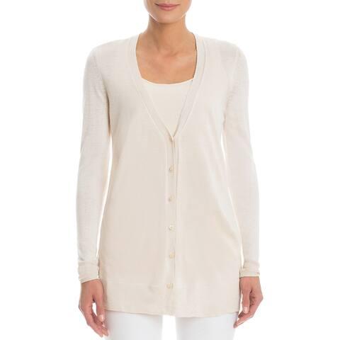 Nic+Zoe Petite Silk-Blend Sweater
