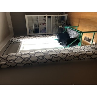 ATI Home Kochi Linen Blend Grommet-top Curtain Panel Pair