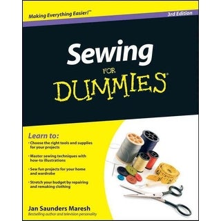 Sewing for Dummies - Jan Saunders Maresh