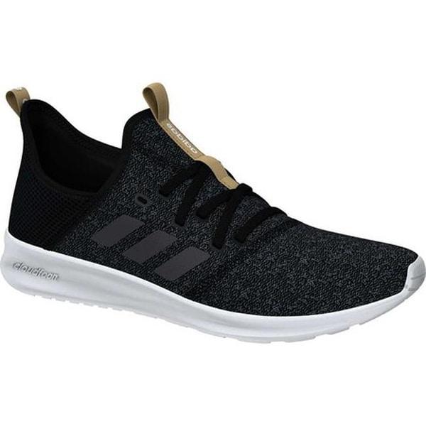 dc2857c27fc4 Shop adidas Women s Cloudfoam Pure Sneaker Core Black Grey Five Core ...