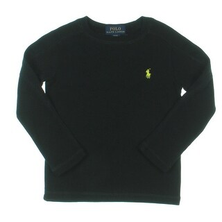 Polo Ralph Lauren Thermal Top Solid Waffle Knit - 2/2t