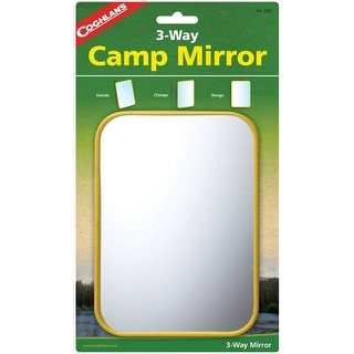 "Coghlan's 650 Camping Mirror, 5"" X 7"""