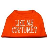 Like my costume? Screen Print Shirt Orange Lg (14)