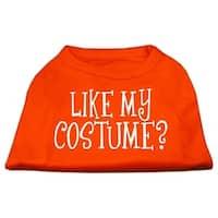 Like my costume? Screen Print Shirt Orange XL (16)